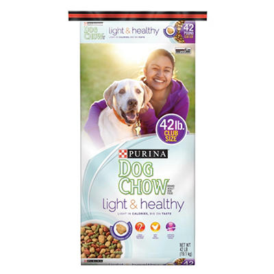 Purina Dog Chow Light & Healthy, 42 lbs.
