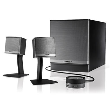 Bose� Companion� 3 Series II multimedia speaker system