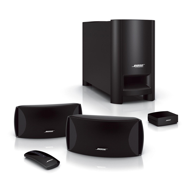 bose cinemate series ii 2 1ch digital home theater speaker. Black Bedroom Furniture Sets. Home Design Ideas