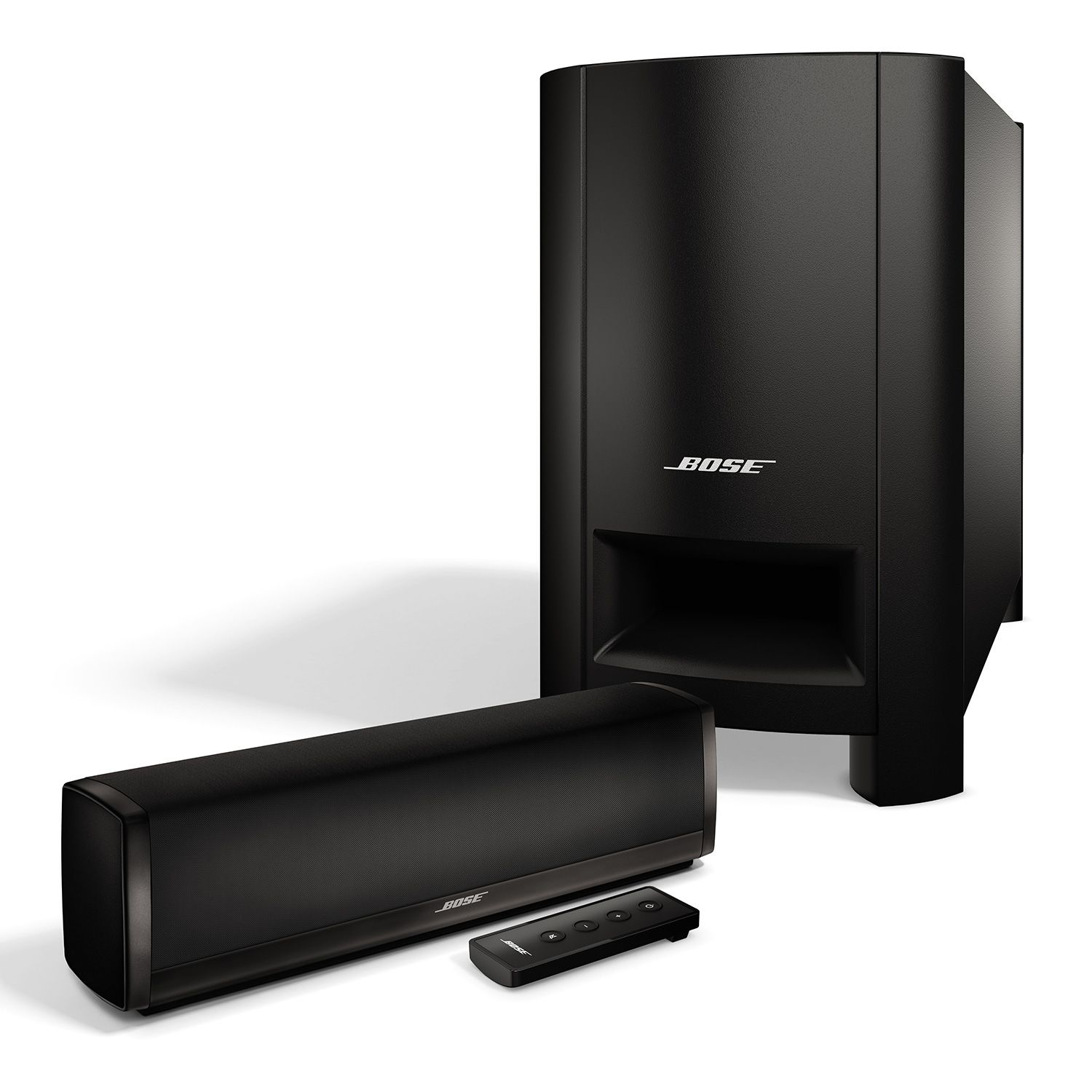 bose cinemate 10 digital home theater soundbar system ebay. Black Bedroom Furniture Sets. Home Design Ideas
