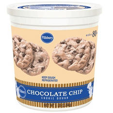 Pillsbury® Chocolate Chip Cookie Tub - 80 oz.