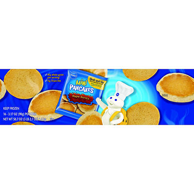 Pillsbury Mini Pancakes - Maple - 16 ct.