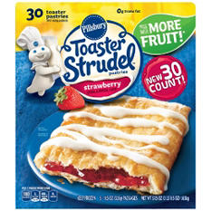 Pillsbury Toaster Strudel, Strawberry (57.5 oz., 30 ct.)