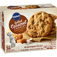 Pillsbury Salted Caramel Ready to Bake Big Deluxe Cookies (12 cookies per pk., 3 ct.)
