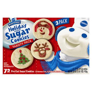 Pillsbury Christmas Cookie Dough Traffic Club