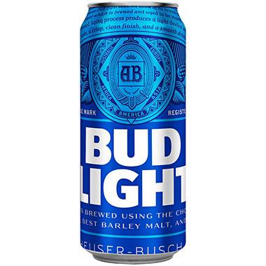 Bud Light Beer (16 oz. can, 24 pk.)
