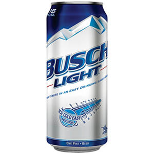 Busch Light Beer (16 fl. oz. cans, 24 pk.)