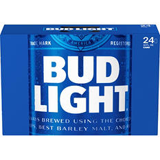 Bud Light Beer -24/12oz cans