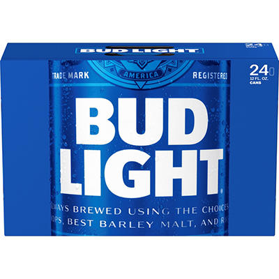 Bud Light Beer  -24/12 oz