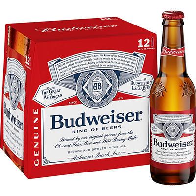 Budweiser - 12/12 oz