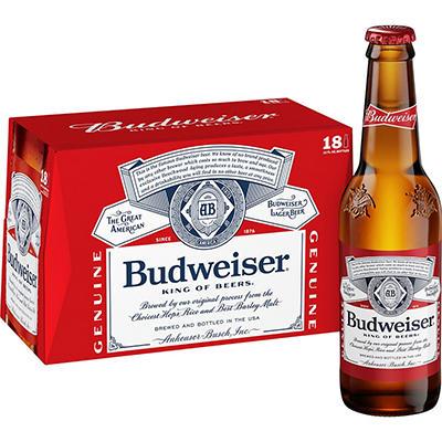 Budweiser - 18/12 oz