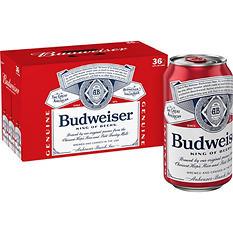 Budweiser (12 oz. cans, 36 pk.)