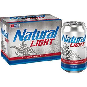 Natural Light Beer (12 fl. oz. cans, 30 pk.)