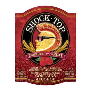Shock Top Raspberry Wheat Ale (12 fl. oz. bottle, 6 pk.)