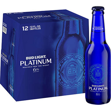 Bud Light Platinum - 12 oz. bottles - 12 pk.