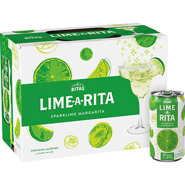 Bud Light Lime Lime-A-Rita - 8 oz. cans - 12 ct.