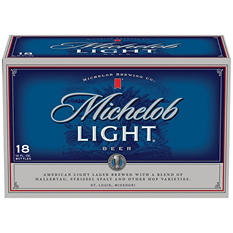 Michelob® Light Beer - 18/12 oz.