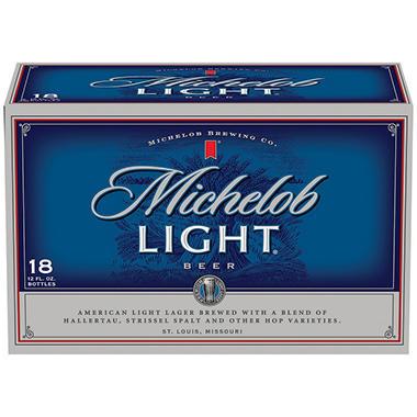 xOFFLINE+MICHELOB LIGHT 18 / 12 OZ BOTTLES