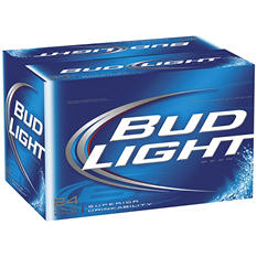 Bud Light - 12 oz. bottles - 24 pk.