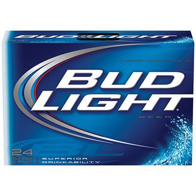 Bud Light Beer - 24/12 oz. cans