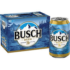 Busch® Beer - 30 / 12 oz.