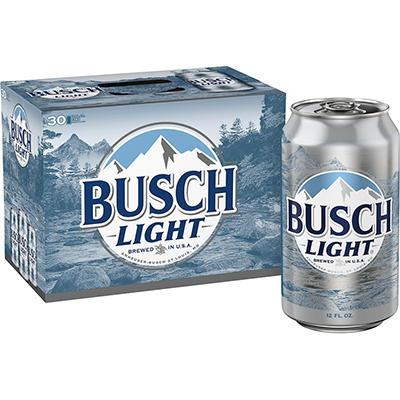 Busch Light® Beer - 30/12 oz.