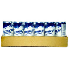 Busch Light Beer (10 oz. cans, 24 pk.) - Puerto Rico
