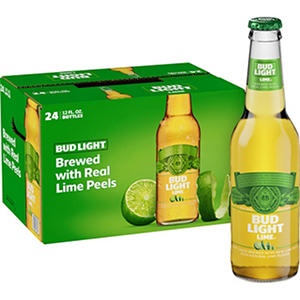 Bud Light Lime Beer (12 oz. bottles, 24 pk.)