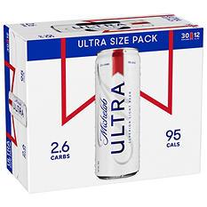 Michelob Ultra  - 30/12 oz