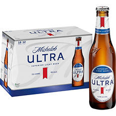 Michelob Ultra - 12 oz. Bottles - 18 ct.