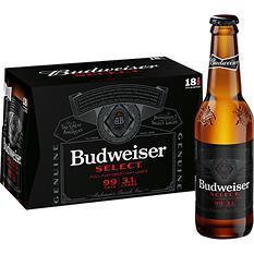 Budweiser Select® Beer - 18/12 oz.
