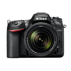 Nikon D7200 HD-SLR 24.2MP Camera with 18-140mm Lens, built-in Wi-Fi and GPS