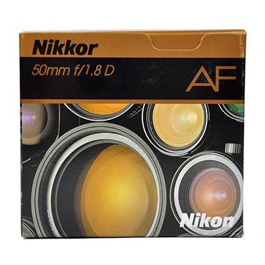 AF Nikkor 50mm f/1.8D Lens