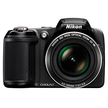 *Instant Savings* Nikon Coolpix L810 16.1MP Digital Camera with 26x Optical Zoom - Black