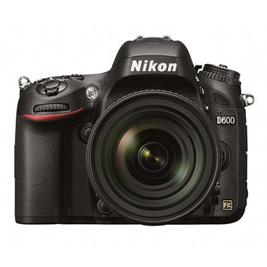 *$2,399.00 after $300 Instant Savings* Nikon D600 Kit with 24-85mm VR Lens - 24.3MP FX Format CMOS Sensor