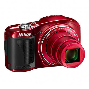 Nikon L610 16MP Digital Camera with 14x Optical Zoom - Various Colors