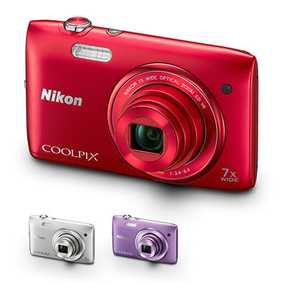 Nikon S3500 20MP Digital Camera