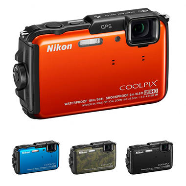 Nikon AW110 16MP Rugged Digital Camera
