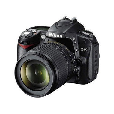 Nikon D90 12MP Digital SLR Camera with 18-105mm Lens