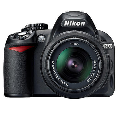 *$449.00 after $100 Instant Savings* Nikon D3100 14.2MP Digital SLR Camera
