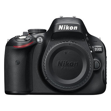 Nikon D5100 16.2MP Digital SLR Camera - Body Only