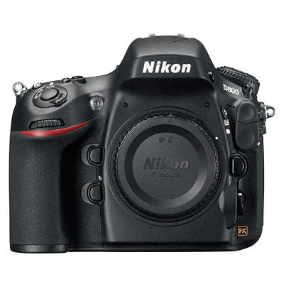 Nikon D800 36.3MP Digital SLR Camera - Body Only