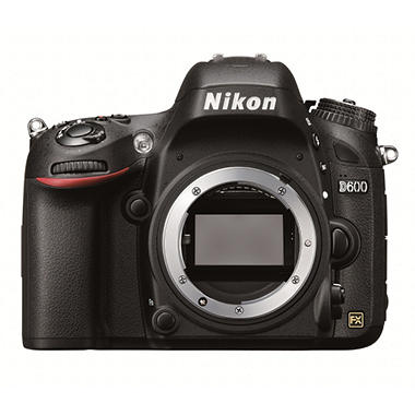 Nikon D600 Body with 24.3MP FX Format CMOS Sensor