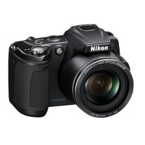 Nikon Coolpix L120 14.1MP Digital Camera - Black