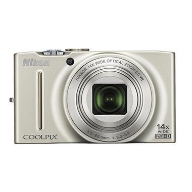 Nikon S8200 16.1MP Digital Camera - Silver