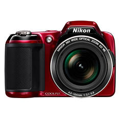 Nikon Coolpix L810 16.1MP Digital Camera with 26x Optical Zoom - Various Colors