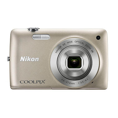 Nikon Coolpix S4300 16MP Digital Camera - Silver