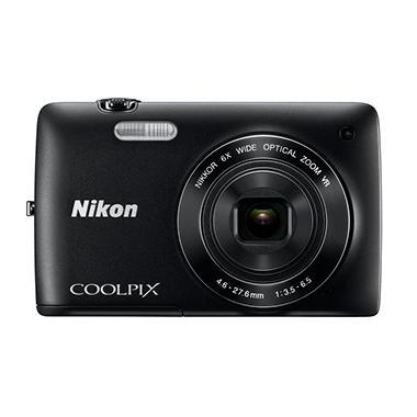 Nikon Coolpix S4300 16MP Digital Camera - Black