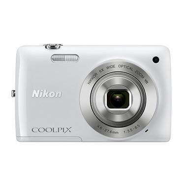 NIKON S4300 WHITE 16MP 6X, 3