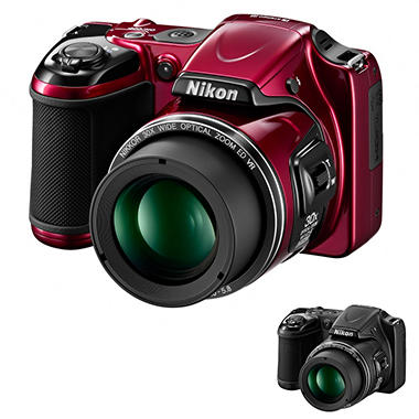 Nikon L820 16MP Long Zoom Digital Camera with 30x Optical Zoom